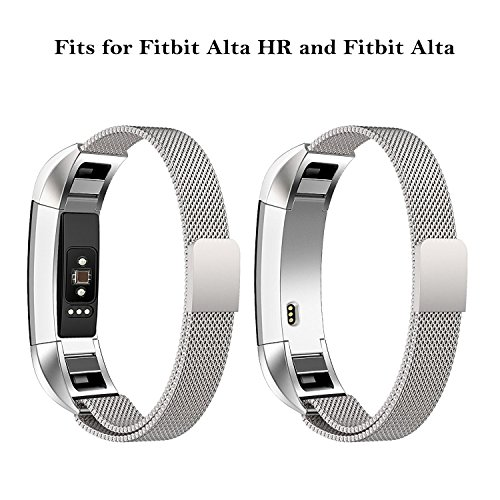 Swees For Fitbit Alta HR and Alta Band Metal Small & Large (5.5