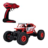 RC Car Metakoo High Speed Remote Control Truck Off-Road 1:18 Scale 2.4 GHz 4WD 40km/h -Blue (red)