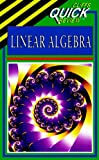 img - for Linear Algebra (Cliffs Quick Review) book / textbook / text book