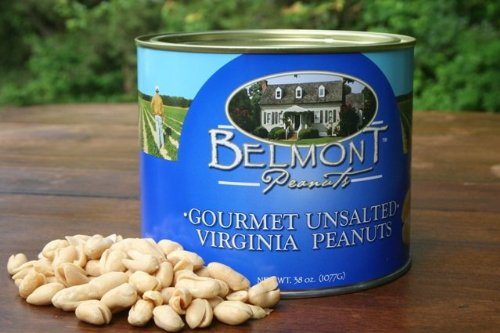 Belmont Peanuts of Southampton 38NS 38 oz Gourmet Unsalted - Pack of 6