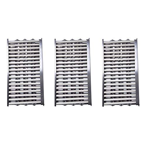 Htanch SN2911 (3-Pack) PN9123 (3-Pack) DCS Radiant Tray,Heat Plates & Ceramic Rod Complete for DCS 27DBQ, 27DBQR, 27DBR, 27DSBQ, 27DSBQR, 27FSBQ, 27FSBQR, 36DBQ, 36DBQAR, 48DBQ, 48DBQAR, 48DBQR