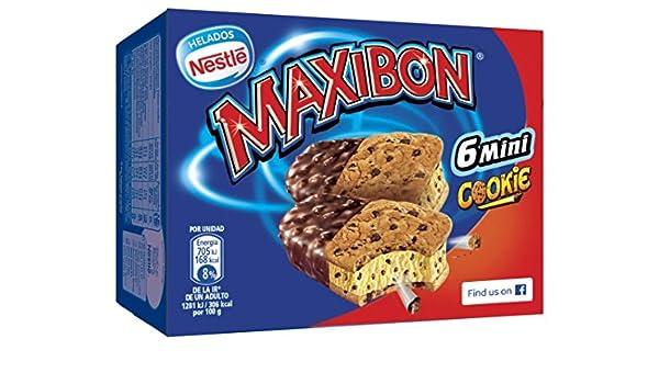 Maxibon, Helado - 8 de 354 gr. (Total 2832 gr.): Amazon.es ...