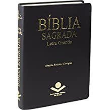 Bíblia Sagrada Letra Grande - Couro Sintético Preta