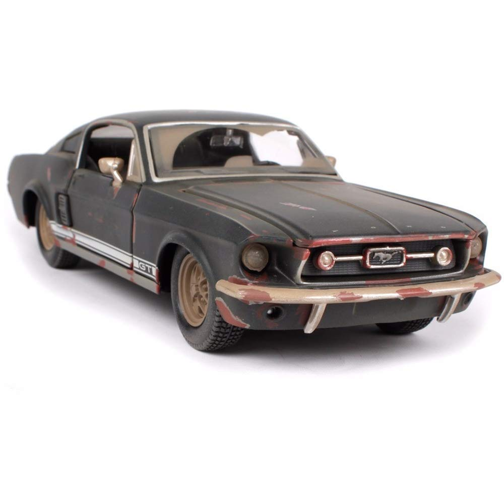 Amazon com maisto 124 1967 ford mustang gt do old vintage diecast model car toy new in box baby