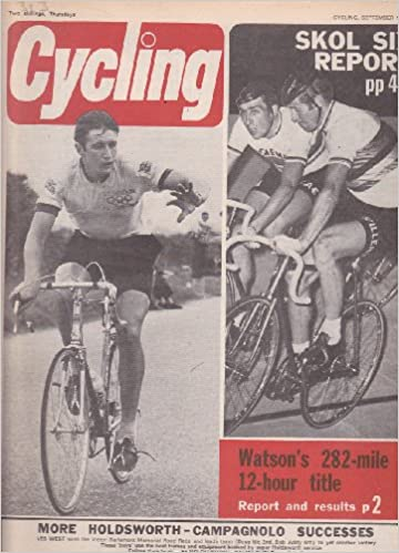 CYCLING MAGAZINE BACK ISSUE 13 9 1969 DAVE WHITEHOUSE - JOHN CLAREY - HUGH  PORTER Paperback – 1900 afe3a4c38
