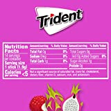 Trident Dragon Fruit Lychee Sugar Free Gum, Made