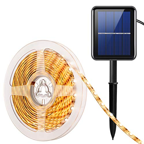 Solar Powered Outdoor Led Strip Lights in US - 4