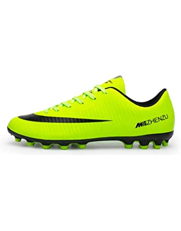 2b8bdb3c3 V-Do Breatheable Soccer Shoes Cleats for Men Ladies Unisex Football Boots  Youth Boys
