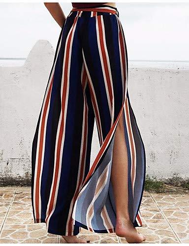 Large Femmes Bleu Pantalon Yhoz Marine Boho Et Pour Sophistiqué BxTxwvqgdp