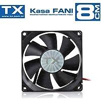 TX TXCCF08BK 8cm Siyah Kasa Fanı