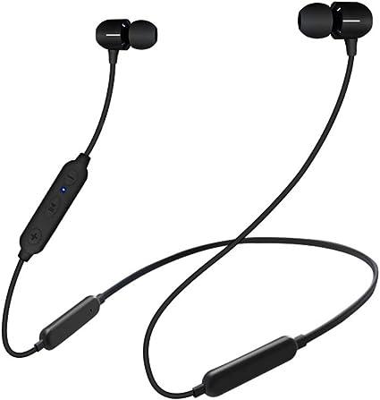 Amazon Com Wireless Bluetooth Headphones Waterproof And Sweatproof 500 Mah Battery Active Noise Cancelling Earbuds Bluetooth Neckband Headphones For Travel Running Cycling Work Home Audio Theater