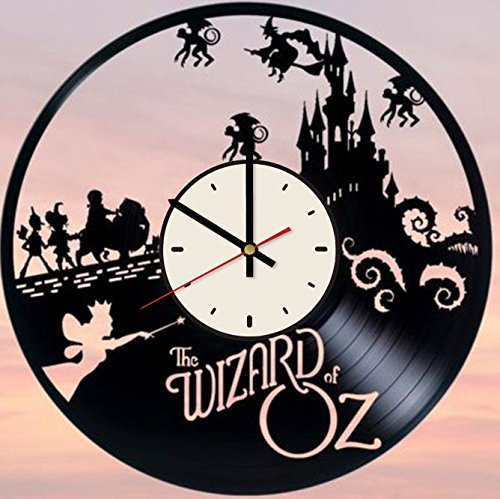 Wizard of Oz Vinyl Wall Clock Dorothy Gale Unique Gifts Living Room Home Decor Wall Gifts