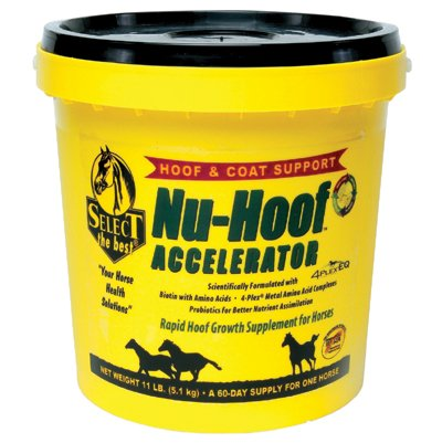 RICHDEL 784299591103 Nu-Hoof Accelerator Hoof & Coat Support for Horses, 11 lb by RICHDEL