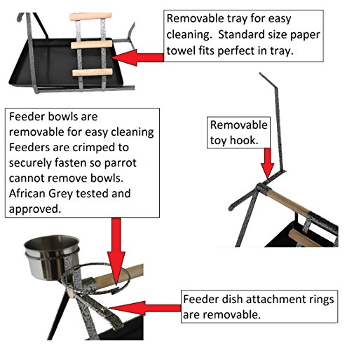 Buy parrot stand perch