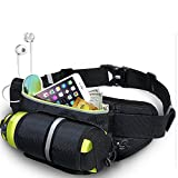 ShiningLove Water Bottle Storage Waist Pack Outdoor Sports Kettle Bag Travel Waterproof Nylon Waist Bag Camping Climbing Emergency Bag