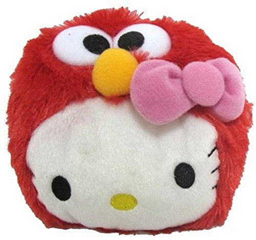 (Sanrio Hello Kitty and Elmo Coin Purse)