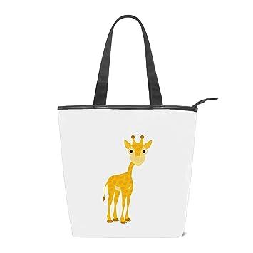 Amazon.com: Bolso de hombro de lona para mujer, bonito bolso ...
