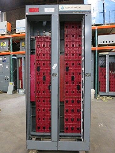 (Allen Bradley Centerline 600/600 Amp 600V MCC Motor Control Center Section 600 A)