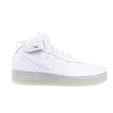 sports shoes 239e9 8f2f2 Nike Air Force 1 Mid '07 LV8 White/White Mens
