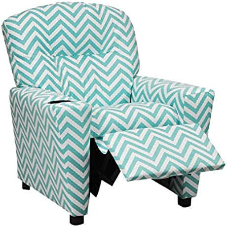Kidz World Ziggi Chevron Kid S Recliner