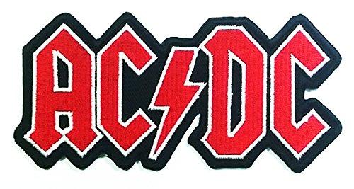 Acdc Heavy Metal Punk Hard Rock Logo Jacket T-shirt Patch Ir