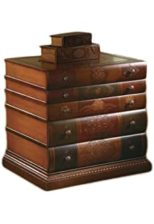 Crestview Collection Library 3 Drawer Chest