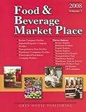 Food and Beverage Market Place, Volume 3, Laura Mars-Proietti, 1592372015