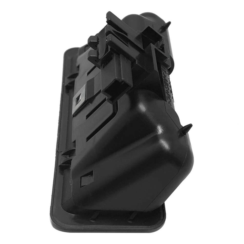 Voupuoda Interruptor de liberaci/ón de la Tapa del Maletero Interruptor Trasero Interruptor el/éctrico Bot/ón de Apertura del port/ón Trasero 51247118158 Reemplazo para BMW E88 E90 E60 E70
