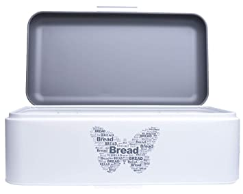 Amazon De Grosse Brotbox Metall Brot Lebensmittel Brot Kuchen Brot
