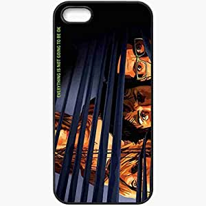 Personalized iPhone 5 5S Cell phone Case/Cover Skin A scanner darkly keanu reeves bob arctor winona ryder donna hawthorne robert downey jr. james barris woody harrelson ernie luckman face Movies Black by lolosakes