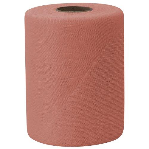 - Falk Fabrics Tulle Spool, 6-Inch by 100-Yard, Peach