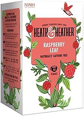 2 Pack) - Heath And Heather - Raspberry Leaf Tea| 50 Bag | 2 PACK ...