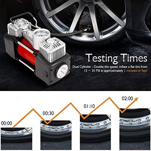 Lorenlli 140MM Einfach zu bedienendes Auto Auto Reifenventilverl/ängerung Doppelreifen Rad LKW Transit Adapter Anschlusskabel