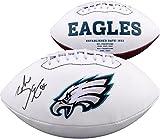 #6: Zach Ertz Philadelphia Eagles Autographed White Panel Football - Fanatics Authentic Certified - Autographed Footballs