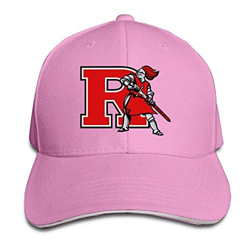 ACMIRAN Rutgers University R Logo Fashion Baseball Cap One Size Pink
