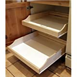 Rolling Shelves RSRTL203 Do-It-Yourself Cabinet Pull-Outs, 30 in. W x 22 in. D Finished, Each