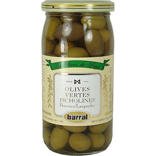 Barral Green Olives Picholines 185g