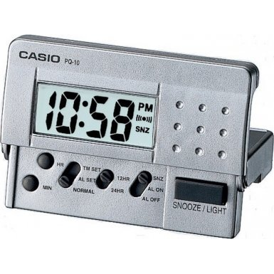(Casio PQ-10D-8REF Light Digital Clock)
