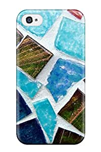 Brandy K. Fountain's Shop New Style Mosaic Texture Premium Tpu Cover Case For Iphone 4/4s