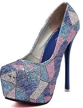 GGX/ Zapatos de mujer-Tacón Stiletto-Confort / Punta Redonda-Tacones-