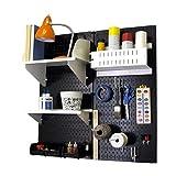 Wall Control 30-CC-200 BW Hobby Craft Pegboard
