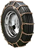 Security Chain Company QG2147 Quik Grip Square Rod Alloy CAM Style Truck Single Tire Traction Chain - Set of 2