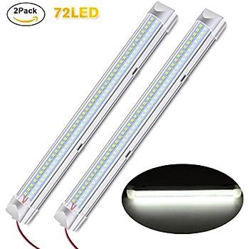 Amazon.com: Audew 340MM 12V 4.5w 72 LED Light Bar with On