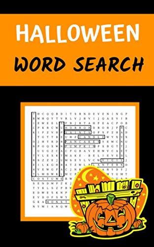 Halloween Word Search: Puzzle Book for Adults and