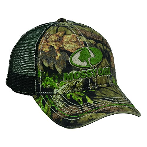 Steelcut Mossy Oak Tree Meshback Break Up Country Dark Green Camo Camoflauge Cap Hat 103