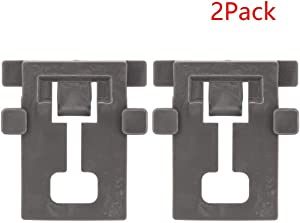 Ultra Durable W10195840 Dishwasher Rack Adjuster Positioner for Whirlpool Kenmore Kitchenaid Dishwashers - Replaces WPW10195840 - PACK OF 2