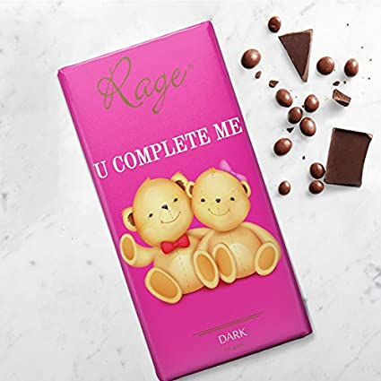 Rage Complete Me Dark Chocolate - 0 90 Grams