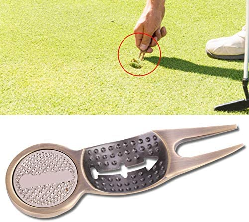 Praktische multifunctionele Golf Divot Tool Golf Divot Tool