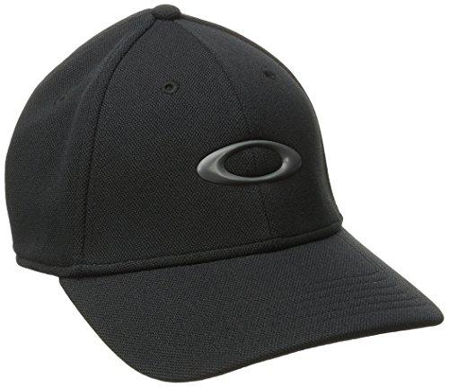 Oakley Men's Silicon Cap 2.0, Black, Small/Medium