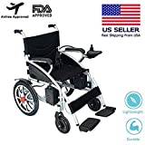 Best Electric Wheelchairs - Mobile Wheelchair, Intelligent Electric Motorized Wheelchair, Portable Folding Review